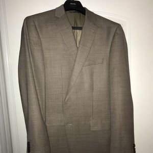 Gold Marc Anthony Patterned 2 Buttoned Sports Coat